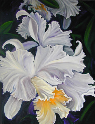 Flower Pictures Oil Painting