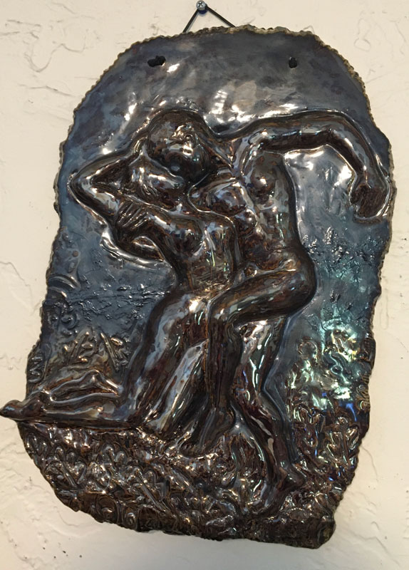 Rodin Wall Plaque
