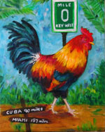 Rooster - MM0 Painting