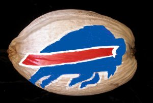 Sports Team Painted Coconut